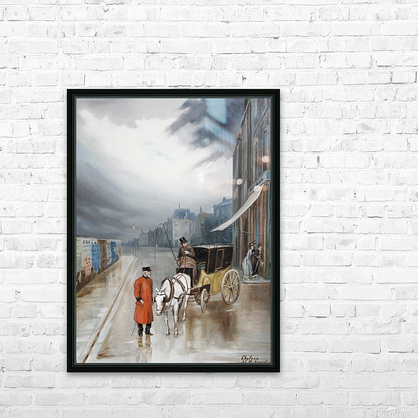 After rain - Chelsea HD Sublimation Metal print with Decorating Float Frame (BOX)