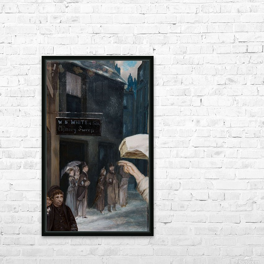 The Chimney Sweep Store HD Sublimation Metal print with Decorating Float Frame (BOX)