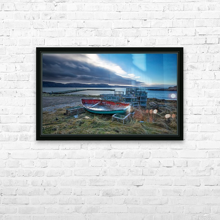 la Pointe HD Sublimation Metal print with Decorating Float Frame (BOX)