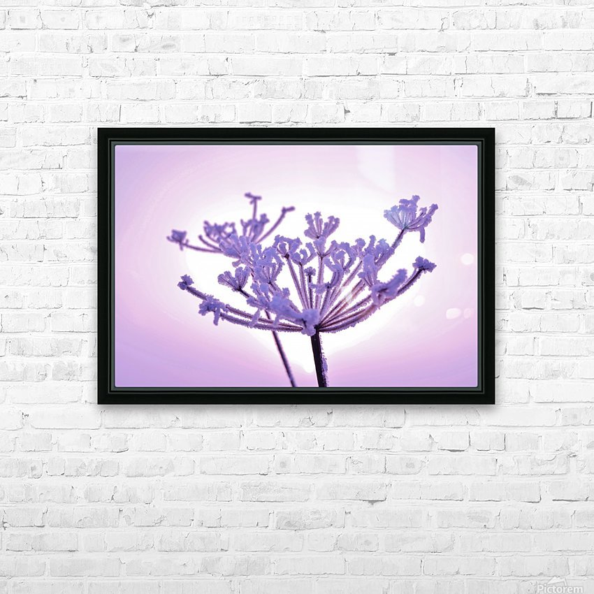 Pink tint HD Sublimation Metal print with Decorating Float Frame (BOX)