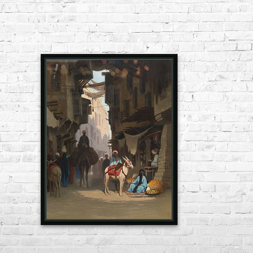 The Souk HD Sublimation Metal print with Decorating Float Frame (BOX)