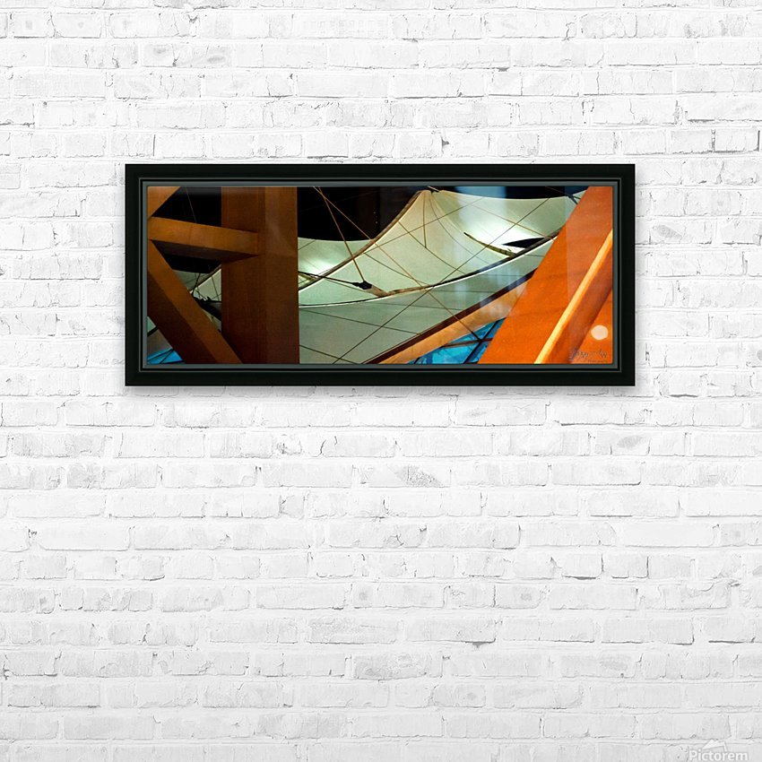 Multi Dimensional HD Sublimation Metal print with Decorating Float Frame (BOX)