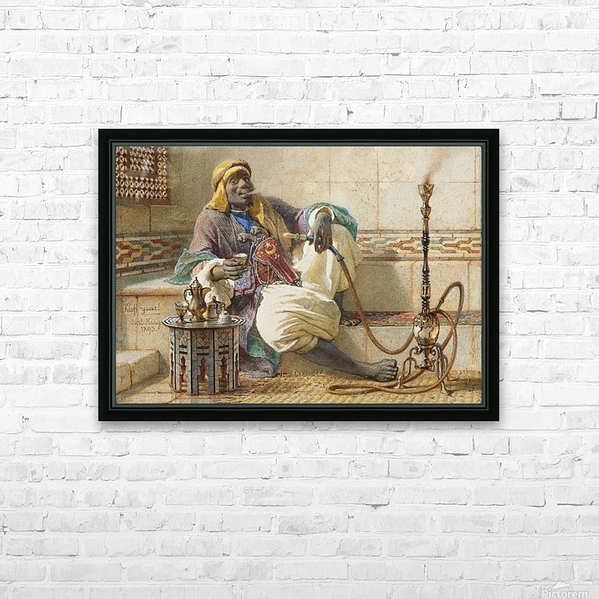 Kieff Yaoos 1893 HD Sublimation Metal print with Decorating Float Frame (BOX)