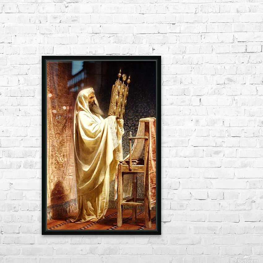 The High Priest of the Samarian HD Sublimation Metal print with Decorating Float Frame (BOX)