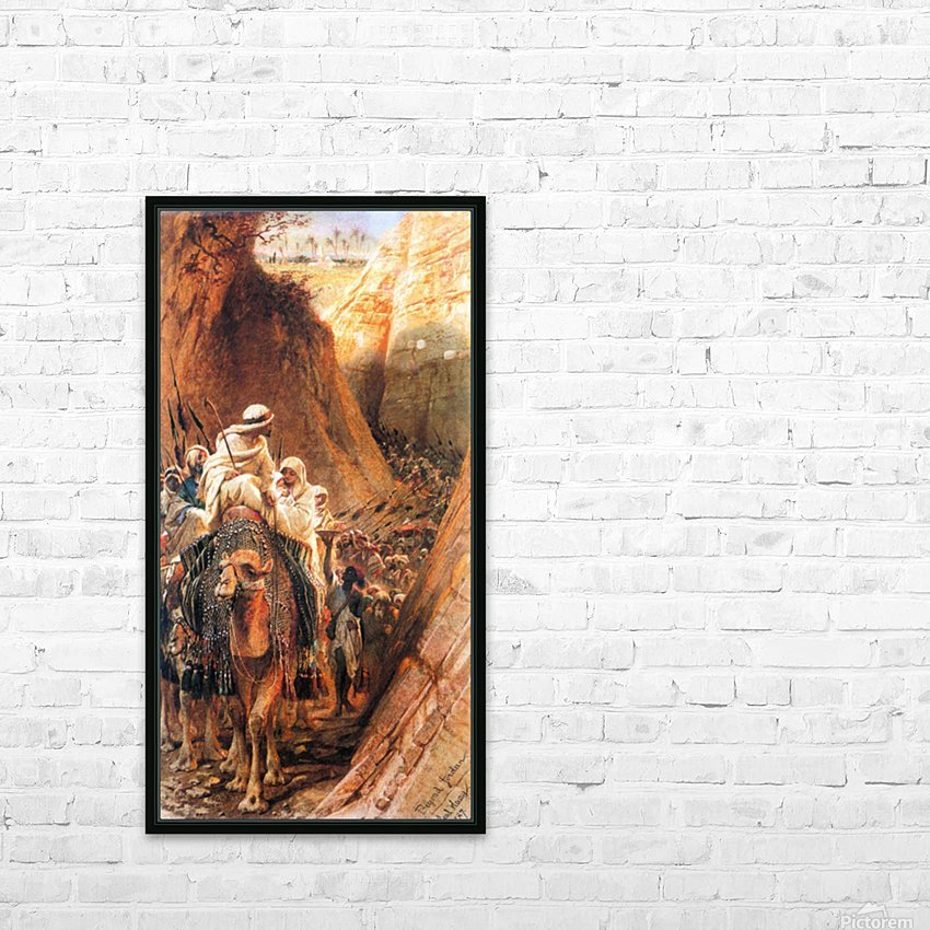 Oryantal Tabolar HD Sublimation Metal print with Decorating Float Frame (BOX)