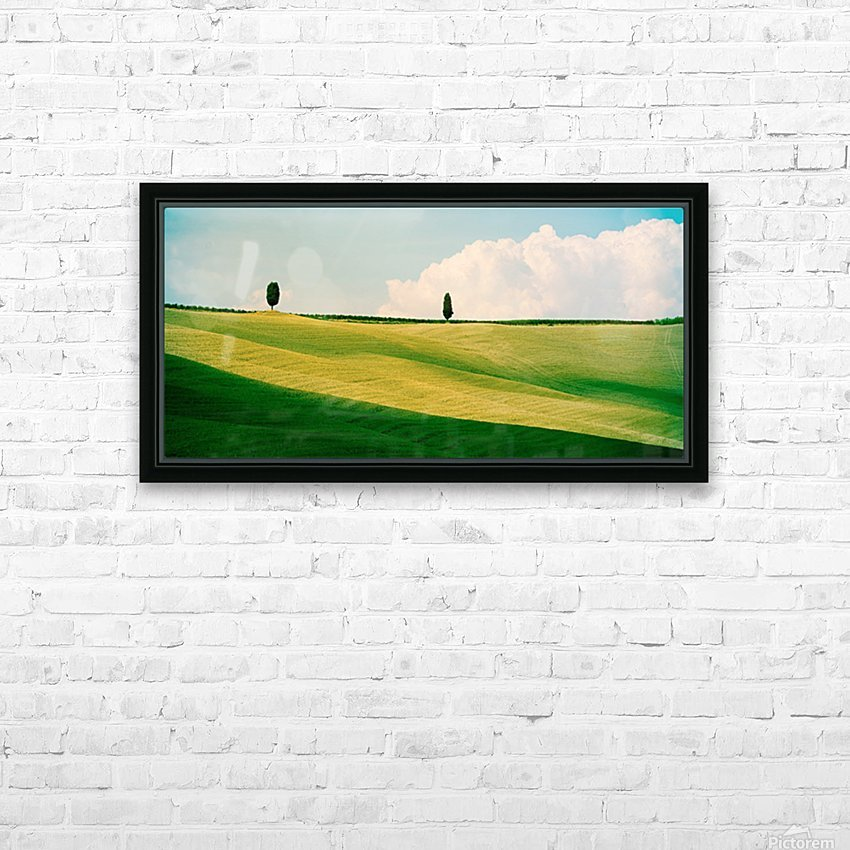 Tuscany Curves HD Sublimation Metal print with Decorating Float Frame (BOX)