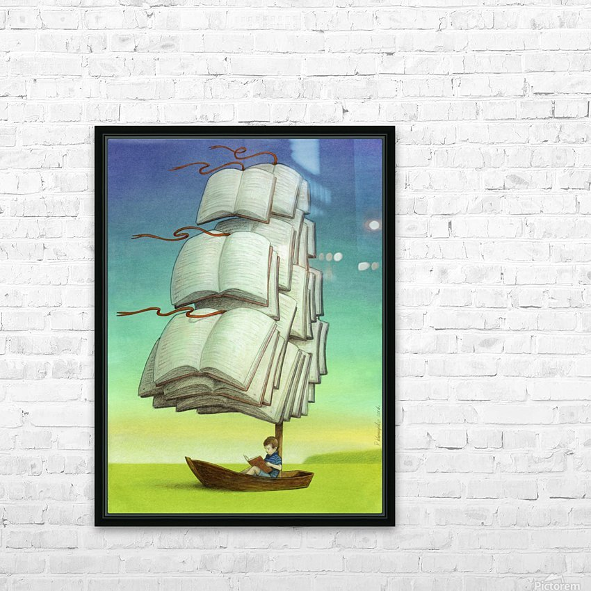 journey HD Sublimation Metal print with Decorating Float Frame (BOX)