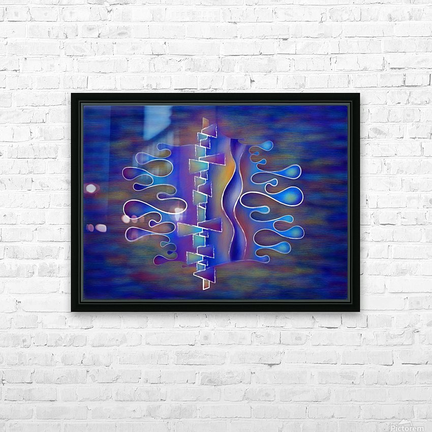Grafenonci V5 - abstract butterfly HD Sublimation Metal print with Decorating Float Frame (BOX)