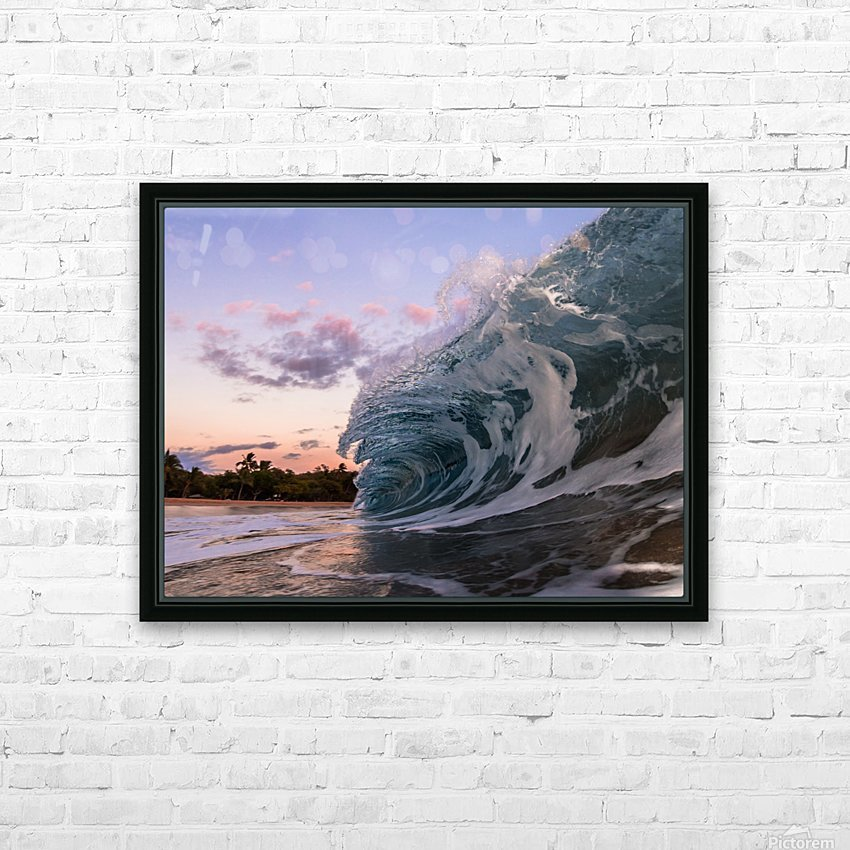 morning session HD Sublimation Metal print with Decorating Float Frame (BOX)