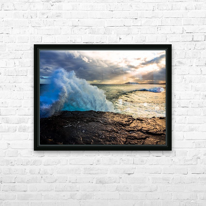 China Wall HD Sublimation Metal print with Decorating Float Frame (BOX)