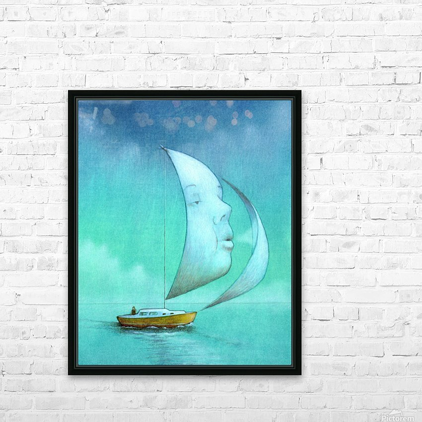 soul  HD Sublimation Metal print with Decorating Float Frame (BOX)