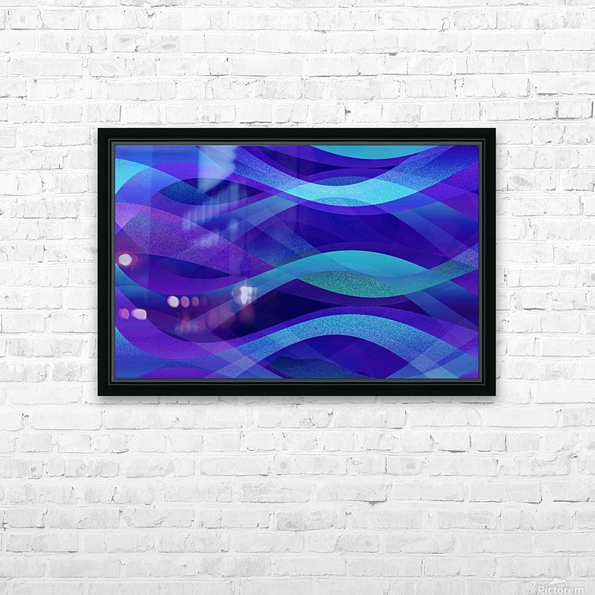 Abstract Background G143 HD Sublimation Metal print with Decorating Float Frame (BOX)