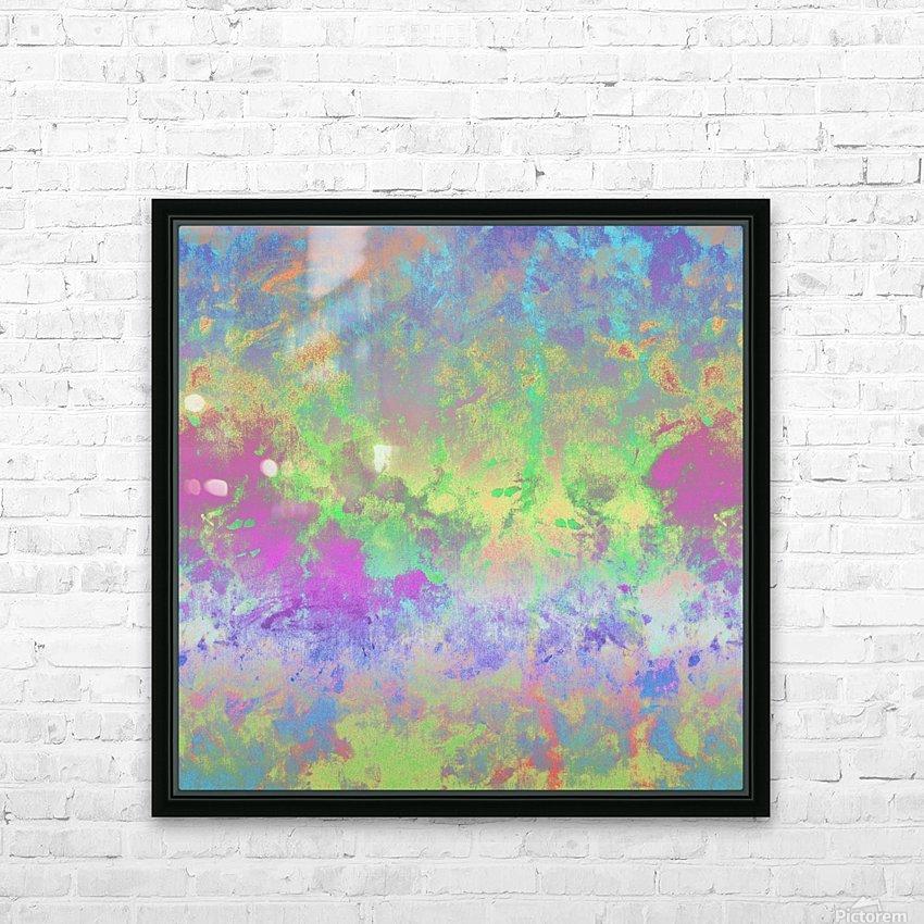 Colour Splash G211 HD Sublimation Metal print with Decorating Float Frame (BOX)