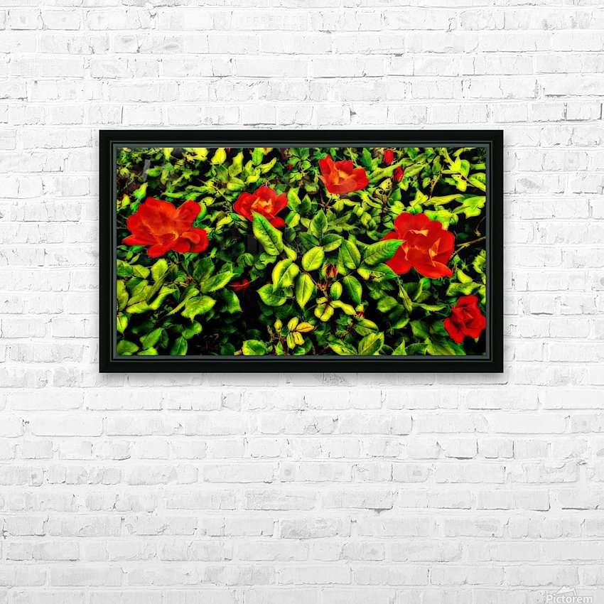 roselooking HD Sublimation Metal print with Decorating Float Frame (BOX)
