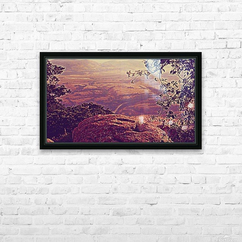 prayingrock HD Sublimation Metal print with Decorating Float Frame (BOX)