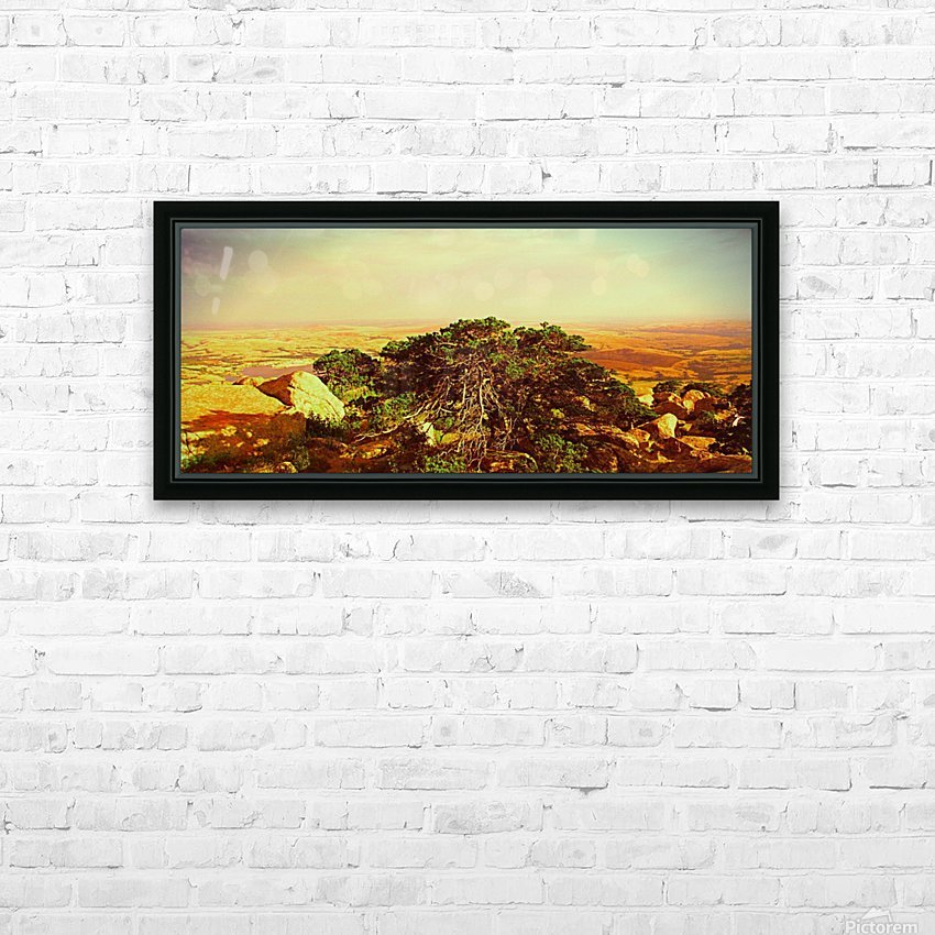 widemountians HD Sublimation Metal print with Decorating Float Frame (BOX)
