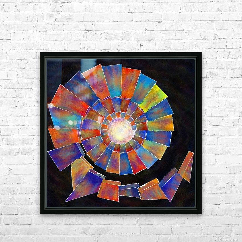 Volsopolis - forgotten future HD Sublimation Metal print with Decorating Float Frame (BOX)