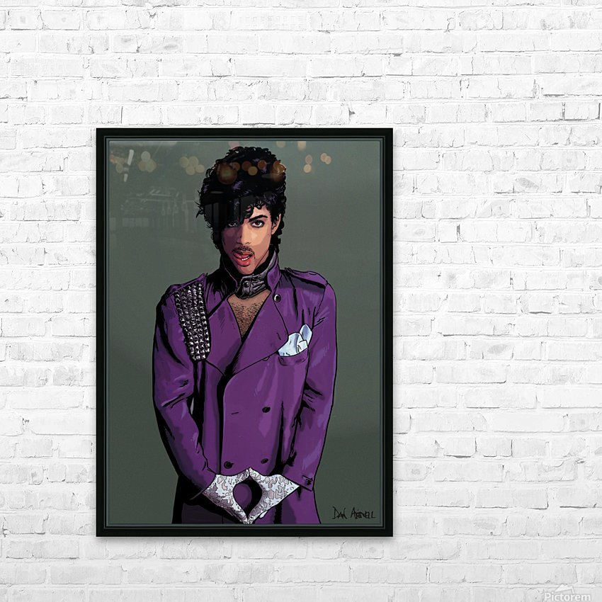 Prince HD Sublimation Metal print with Decorating Float Frame (BOX)