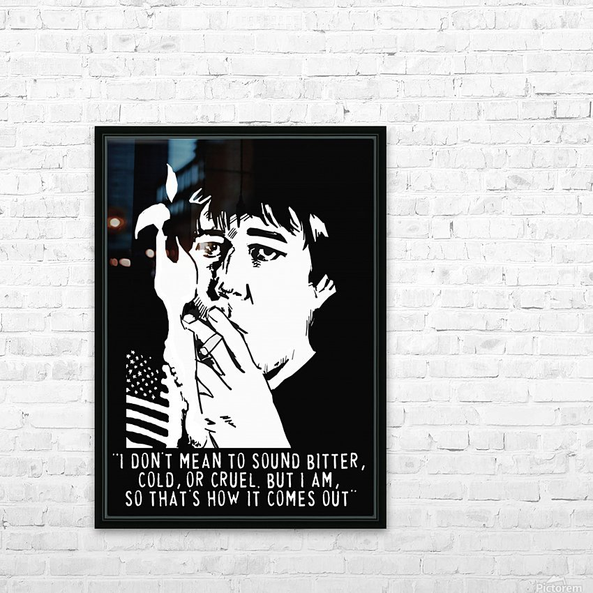 Bill Hicks HD Sublimation Metal print with Decorating Float Frame (BOX)