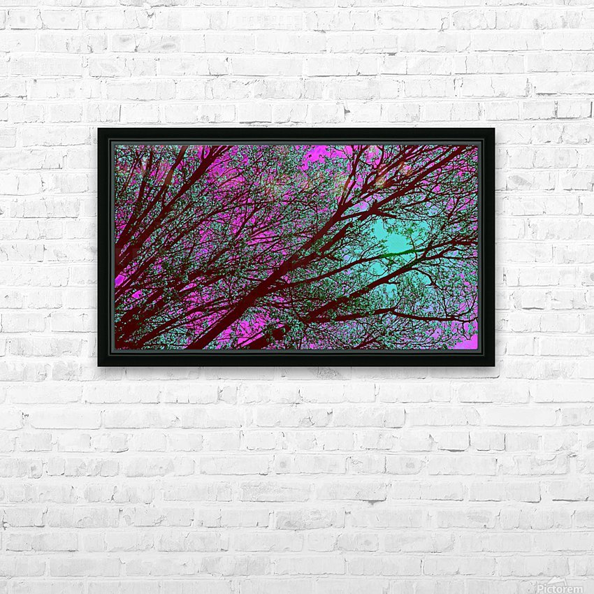 bloomingInfeb HD Sublimation Metal print with Decorating Float Frame (BOX)