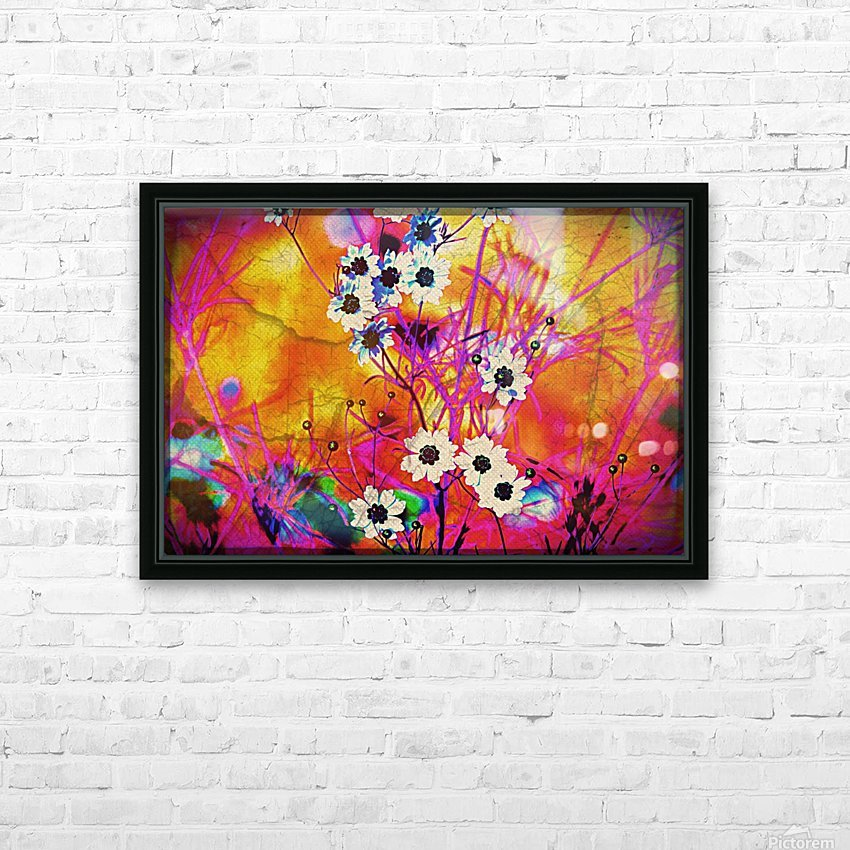 Fancy Weeds HD Sublimation Metal print with Decorating Float Frame (BOX)