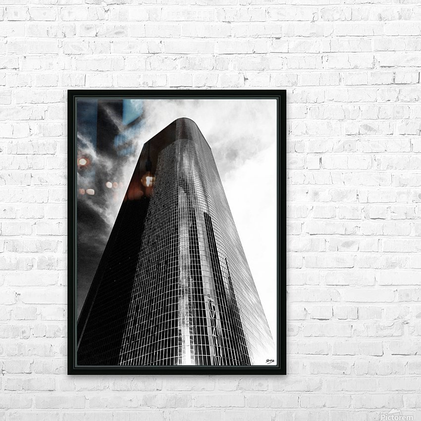 CORPORATE NIGHTMARES II HD Sublimation Metal print with Decorating Float Frame (BOX)