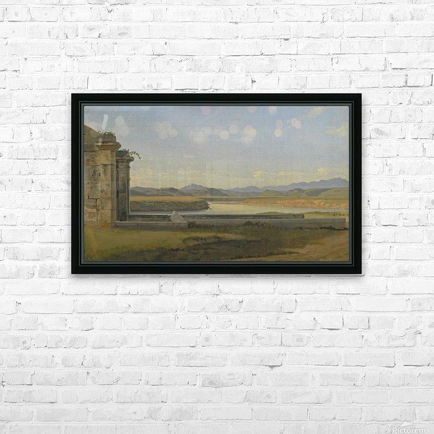 Landscape near Hamburg HD Sublimation Metal print with Decorating Float Frame (BOX)