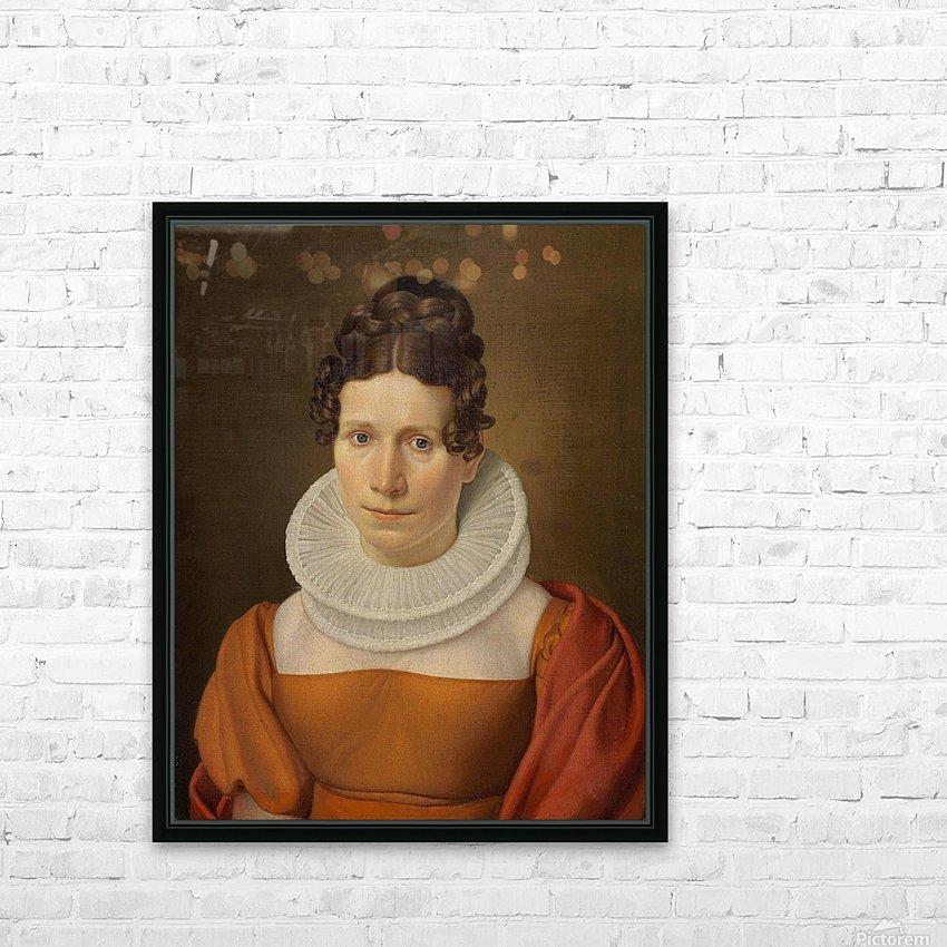 Portrait of Faktor Fjellerups Kone HD Sublimation Metal print with Decorating Float Frame (BOX)