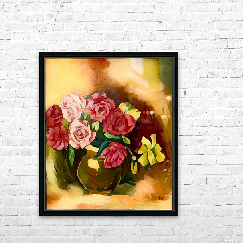 G126 (3) HD Sublimation Metal print with Decorating Float Frame (BOX)