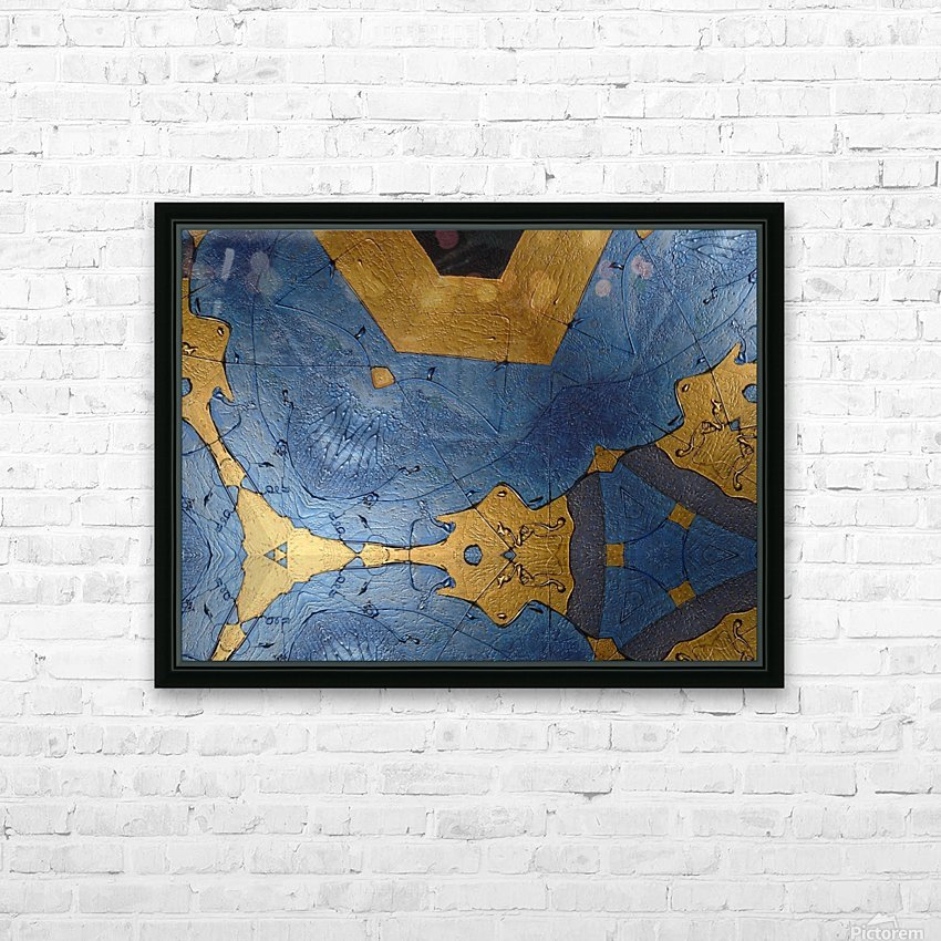 Art24k limited edition HD Sublimation Metal print with Decorating Float Frame (BOX)