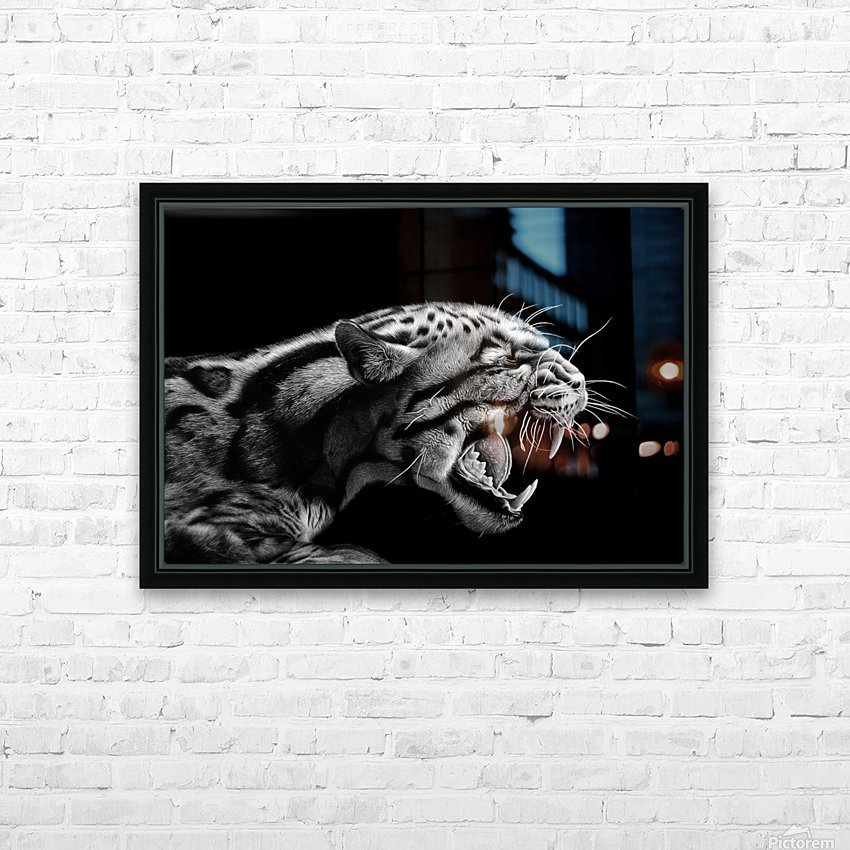 ANGER HD Sublimation Metal print with Decorating Float Frame (BOX)