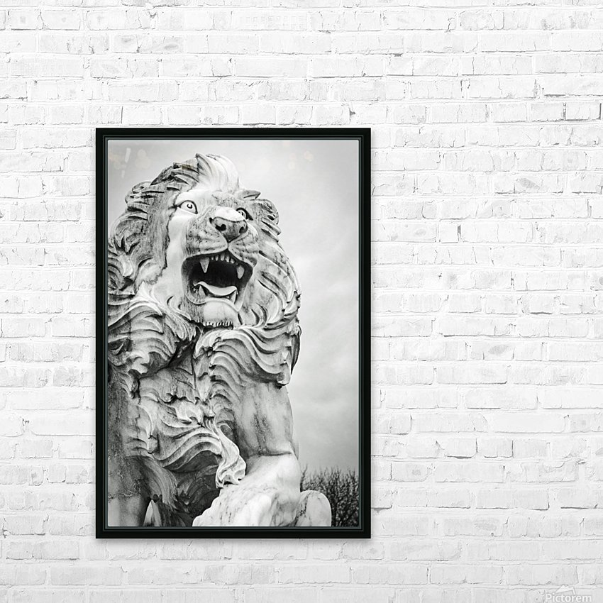 King of the Beast HD Sublimation Metal print with Decorating Float Frame (BOX)