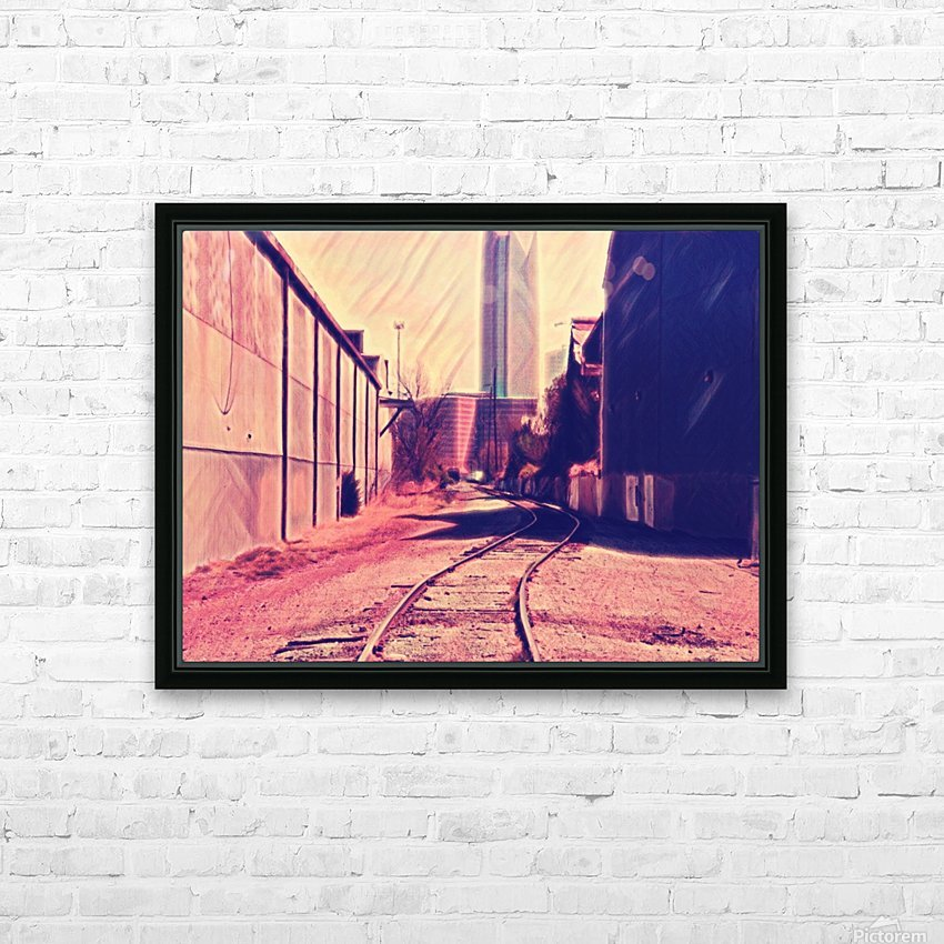 railstojails HD Sublimation Metal print with Decorating Float Frame (BOX)