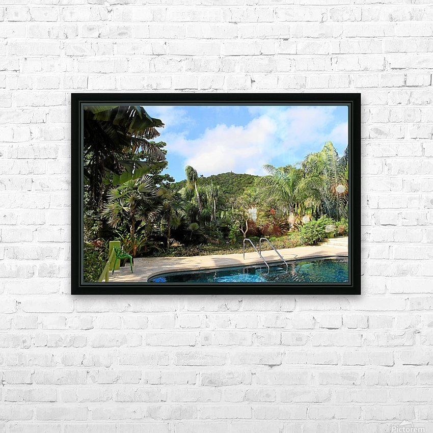 Nevis GR2 HD Sublimation Metal print with Decorating Float Frame (BOX)