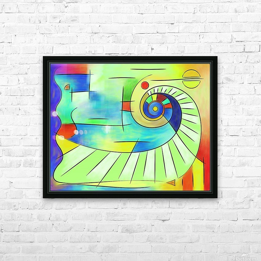 Wainissium - stairway to the sun HD Sublimation Metal print with Decorating Float Frame (BOX)
