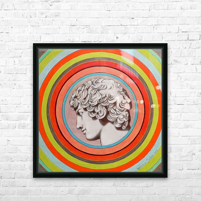Antinoo Farnese HD Sublimation Metal print with Decorating Float Frame (BOX)