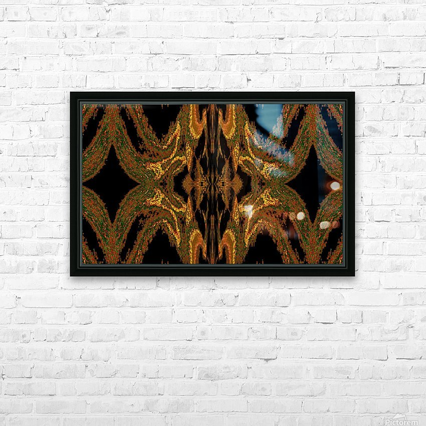 Hidden Butterfly 2 HD Sublimation Metal print with Decorating Float Frame (BOX)