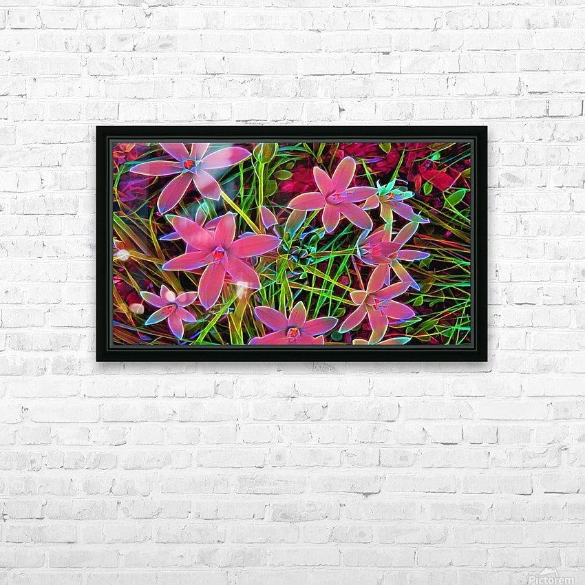 radiantplant HD Sublimation Metal print with Decorating Float Frame (BOX)