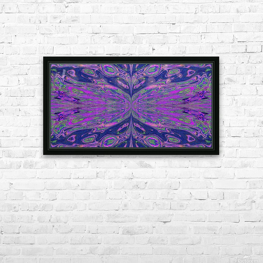 Queen of the Butterflies 4 HD Sublimation Metal print with Decorating Float Frame (BOX)