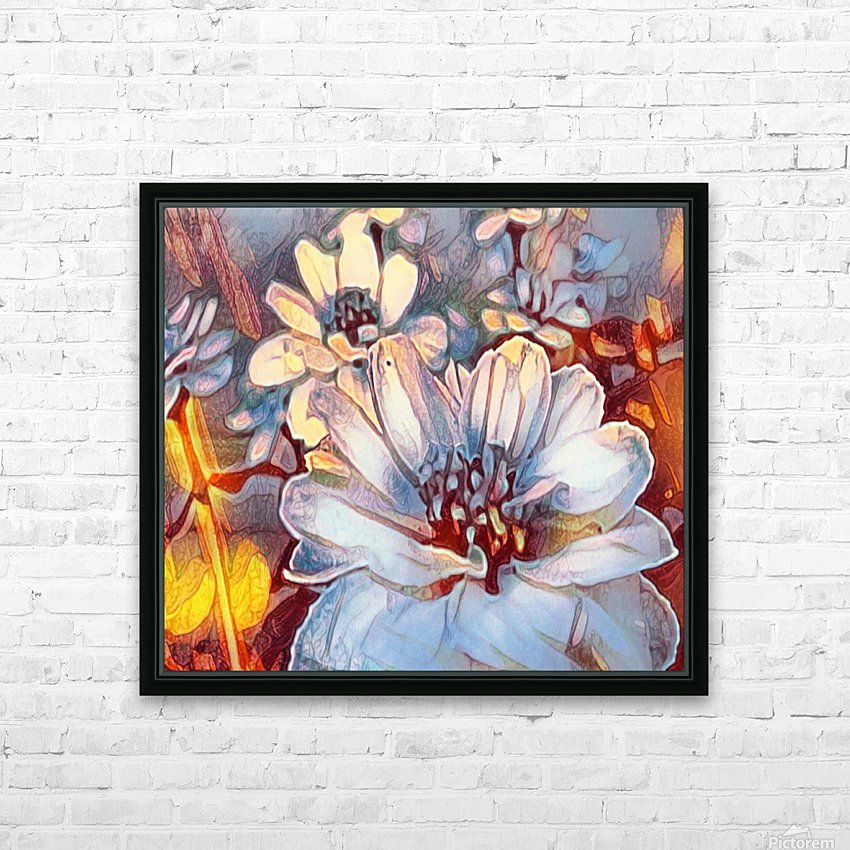 Something Different HD Sublimation Metal print with Decorating Float Frame (BOX)