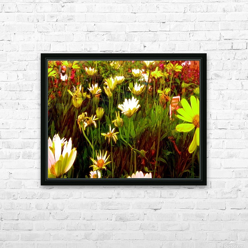 forest of flowers HD Sublimation Metal print with Decorating Float Frame (BOX)