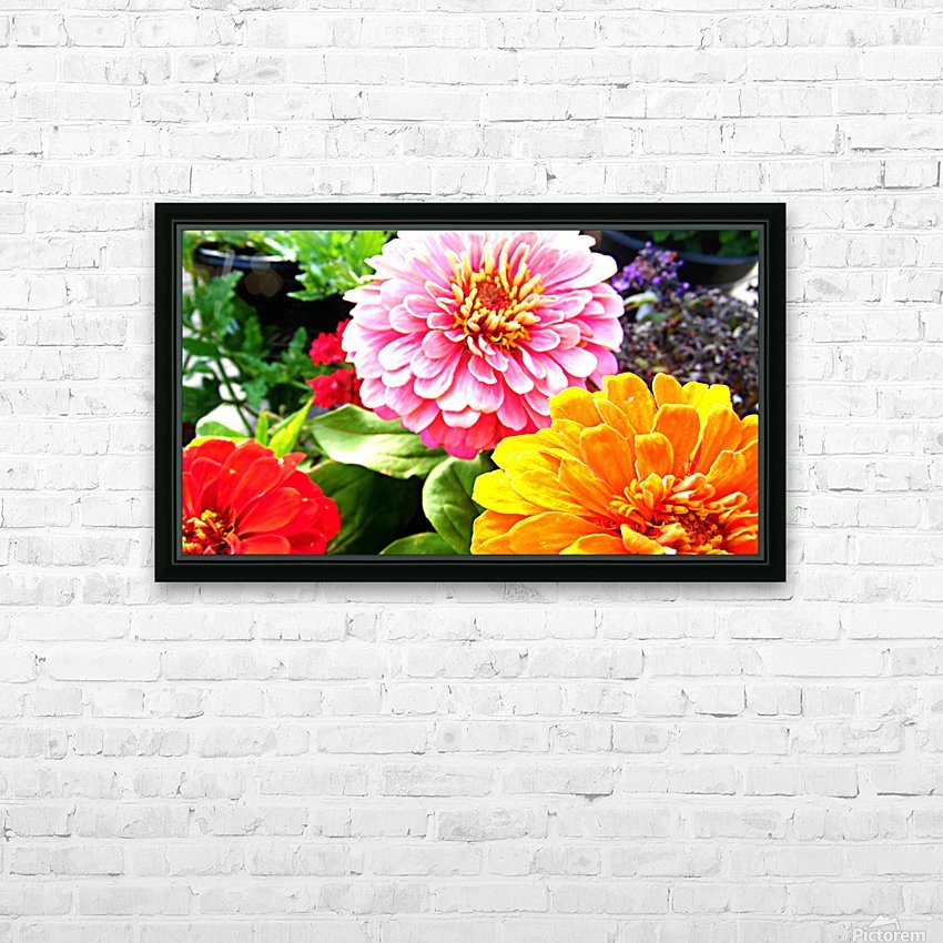 No Edit HD Sublimation Metal print with Decorating Float Frame (BOX)