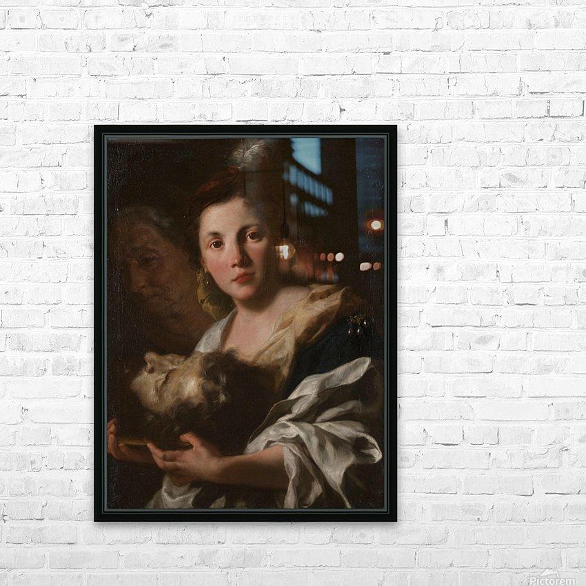 Judith with the head of Holofernes HD sublimation métal imprimé avec décoration flotteur cadre (boîte)