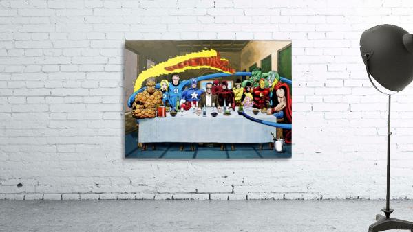 Marvel Superheroes: Stan Lee's Super Supper with Avengers, Fantastic Four, X-Men, Spider-Man & More