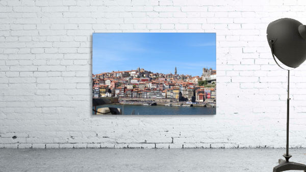 Oporto City at Douro River