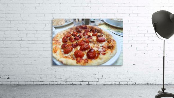 Pizza dans le Jardin de Nelson