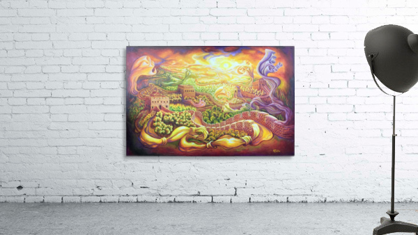 The dragons of the Great Wall