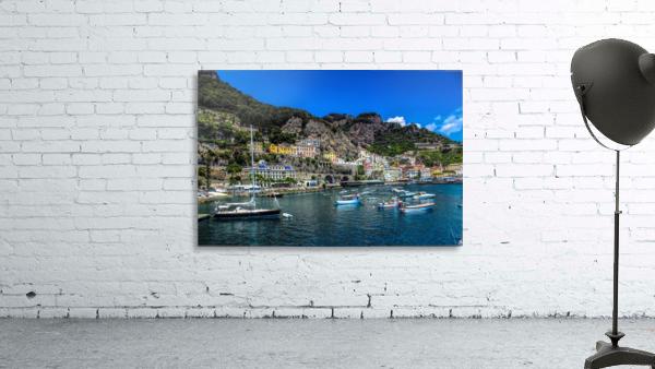 Amalfi Coast Panoramic View