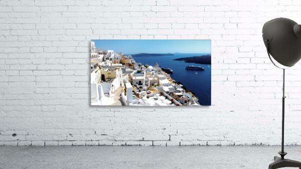 Super panoramic view - Santorini - Greece