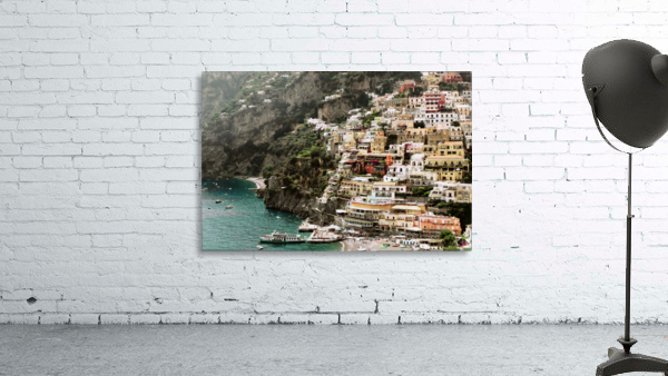 Positano Beach Landscape - Italy